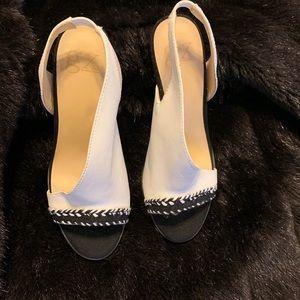 Gwen Stefani Black & white high heels